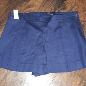 Womens sz 18 GAP navy blue shorts NWT